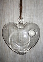"Ваза ""Сердце"" подвесное"